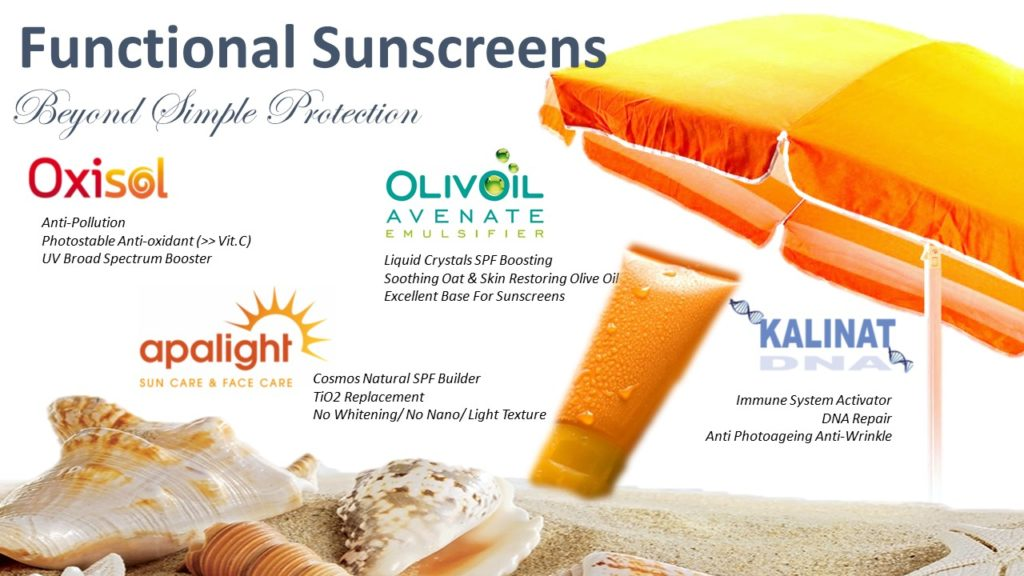 Functional Sunscreens